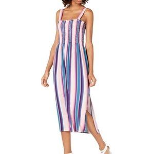 BeBop Stripe Midi Split Dress - US Junior XS or M